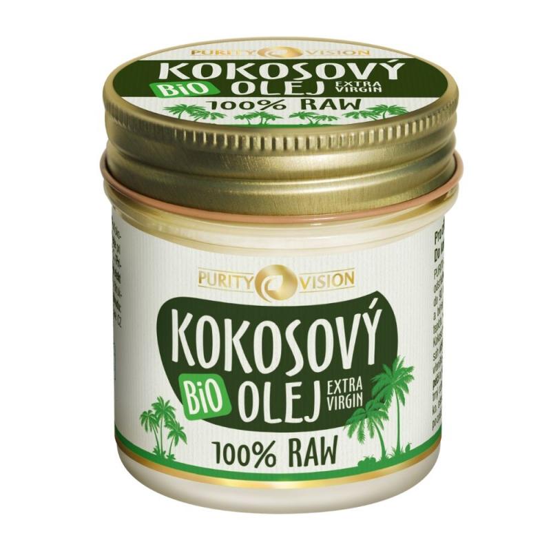 PURITY VISION Raw Bio Kokosový olej 120 ml